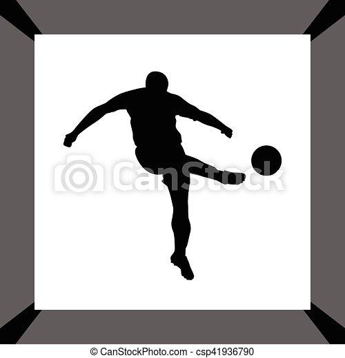 Jugador de fútbol - csp41936790