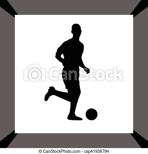 Jugador de fútbol - csp41936794