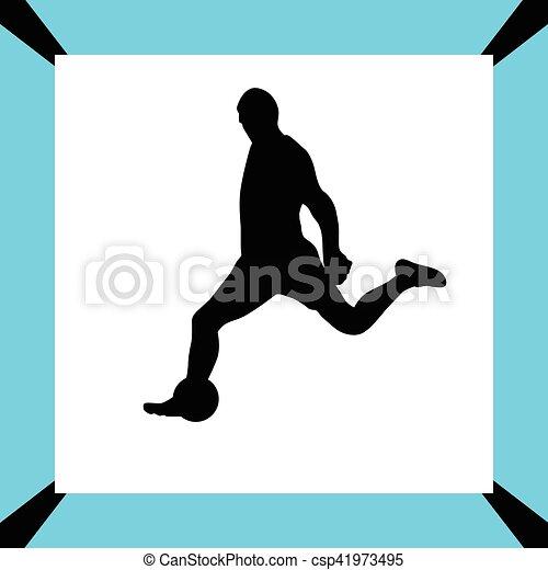 Jugador de fútbol - csp41973495