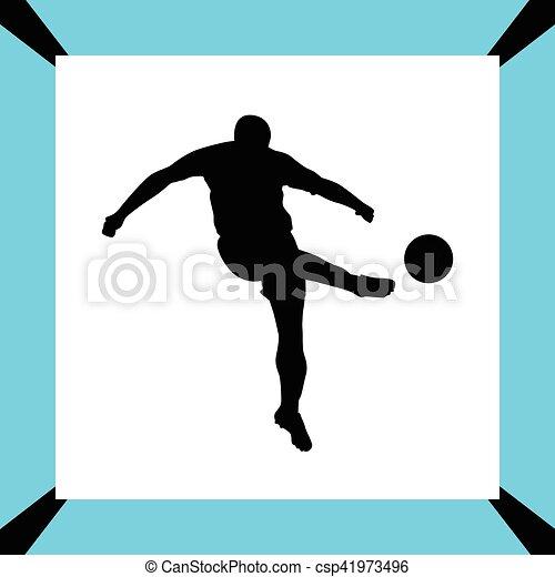 Jugador de fútbol - csp41973496