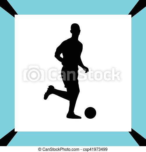 Jugador de fútbol - csp41973499