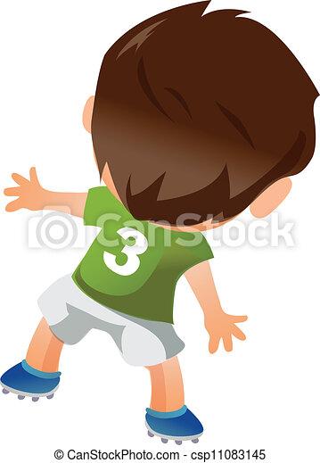 Jugador de fútbol - csp11083145