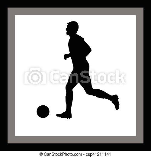 Jugador de fútbol - csp41211141