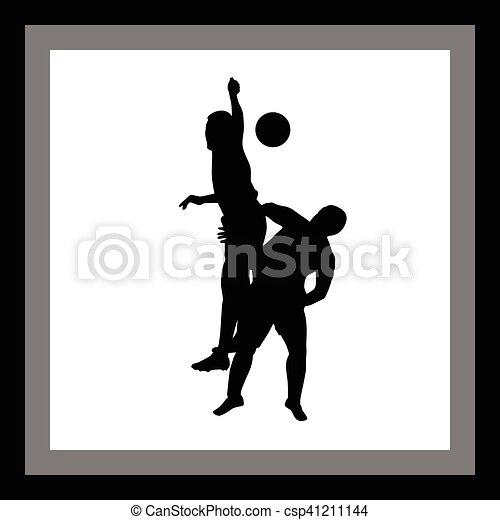 Jugador de fútbol - csp41211144