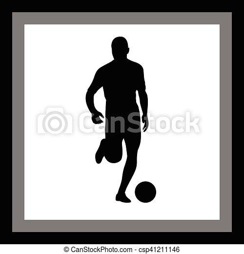 Jugador de fútbol - csp41211146