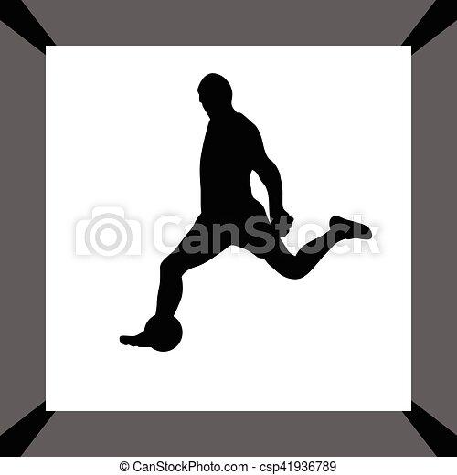 Jugador de fútbol - csp41936789