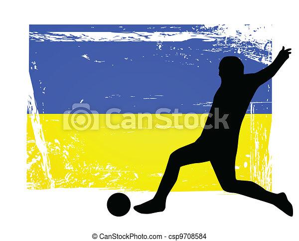 Jugador de fútbol - csp9708584
