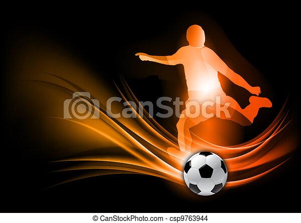 Jugador de fútbol - csp9763944