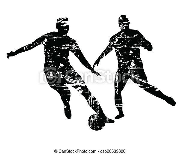 Jugador de fútbol - csp20633820