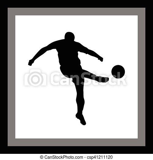Jugador de fútbol - csp41211120
