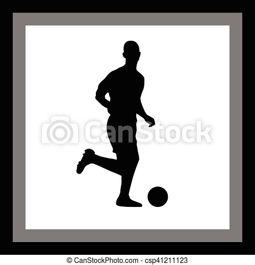 Jugador de fútbol - csp41211123