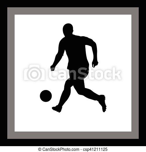 Jugador de fútbol - csp41211125