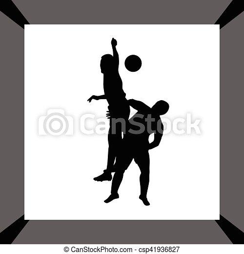 Jugador de fútbol - csp41936827