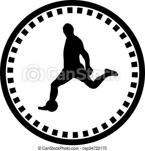 Jugador de fútbol - csp34722170