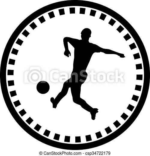 Jugador de fútbol - csp34722179