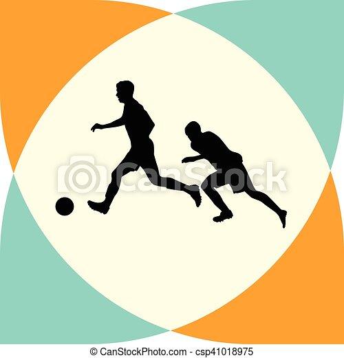 Jugador de fútbol - csp41018975