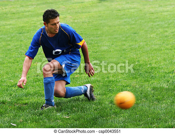 Jugador de fútbol - csp0043551
