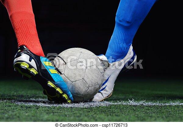 Jugador de fútbol - csp11726713