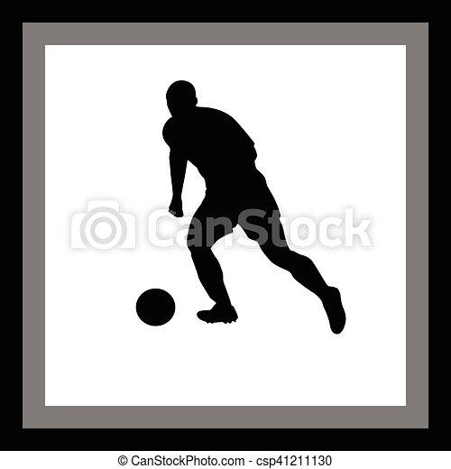 Jugador de fútbol - csp41211130