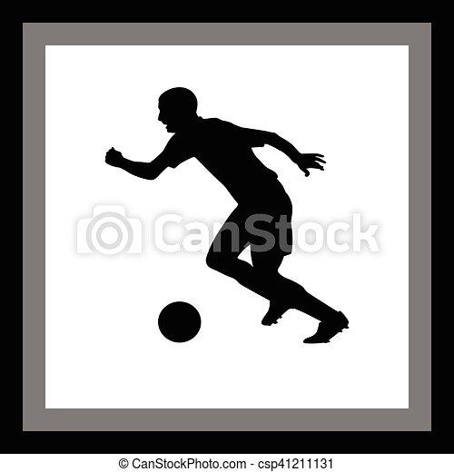 Jugador de fútbol - csp41211131