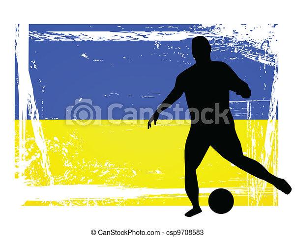 Jugador de fútbol - csp9708583
