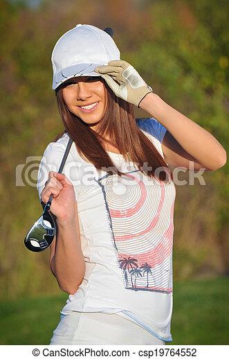 Jugador de golf - csp19764552