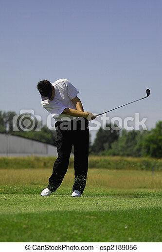 Jugador de golf - csp2189056