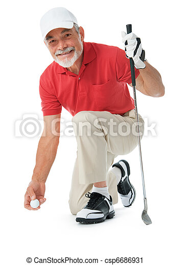 Jugador de golf - csp6686931
