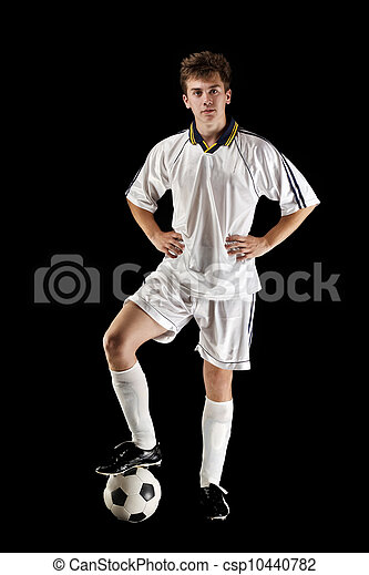 Jugador de fútbol americano - csp10440782