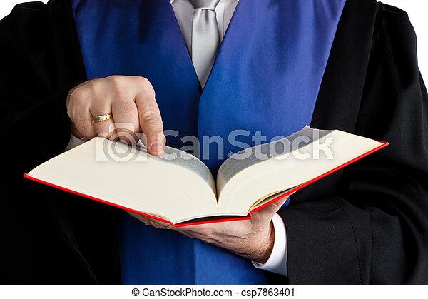 juge, code, tribunal - csp7863401