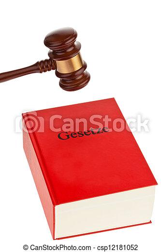 juge, code, tribunal - csp12181052