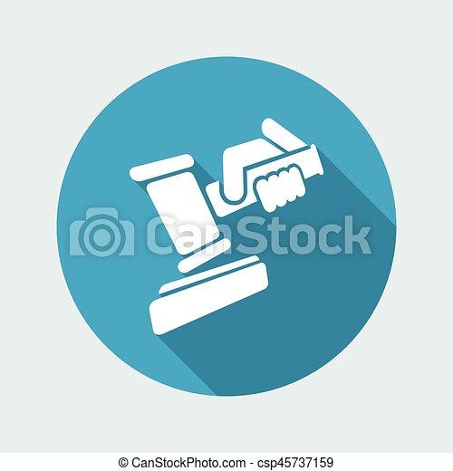 juge, marteau - csp45737159