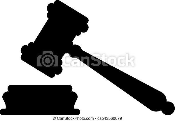 juge, marteau, justice - csp43568079