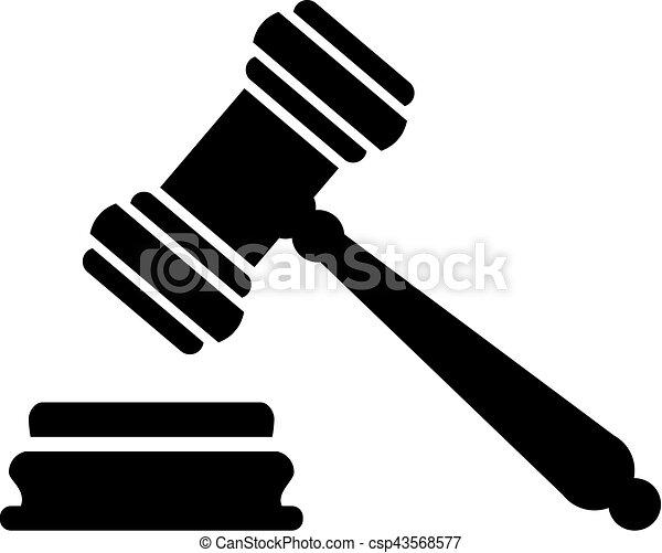 juge, marteau, justice - csp43568577