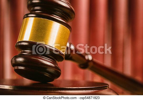 juge, marteau, tribunal - csp54871823