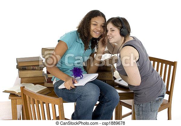 Teenager-Studie - csp1889678