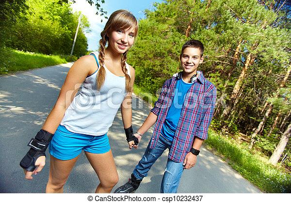 Teen Skater - csp10232437