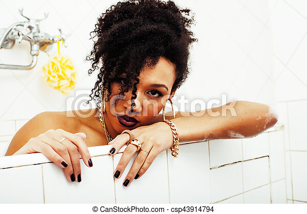 African American Beute Bilder