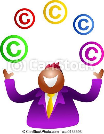 juggling copyright - csp0185593