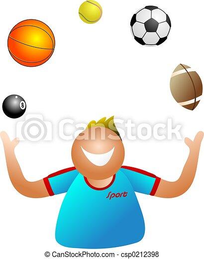 juggling sport - csp0212398