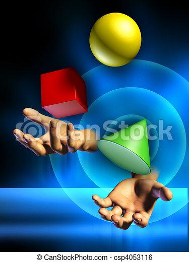 Juggling - csp4053116