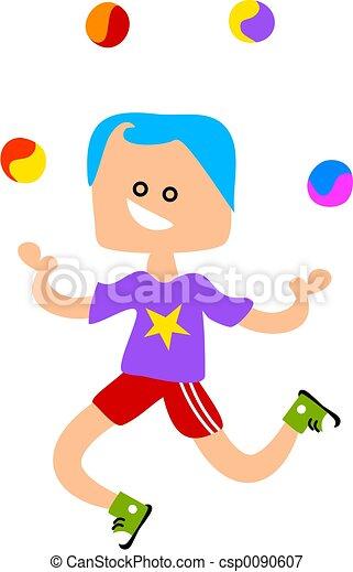 Juggling - csp0090607