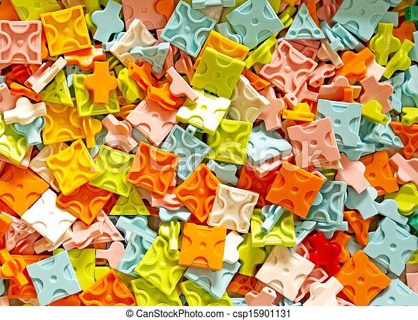 Bloques de juguete de plástico - csp15901131