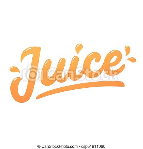Juice logo lettering