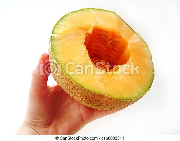 Juicy Cantaloupe - csp0003311