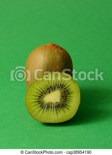 Juicy kiwi fruit - csp38954190