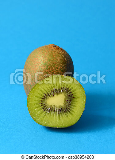 Juicy kiwi fruit - csp38954203