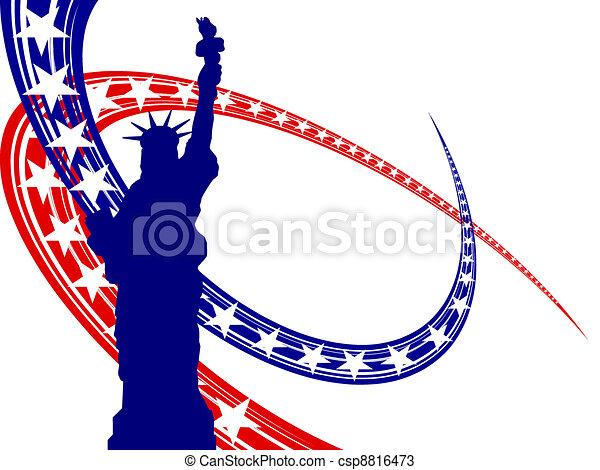 4. Juli - Unabhängigkeitstag - csp8816473