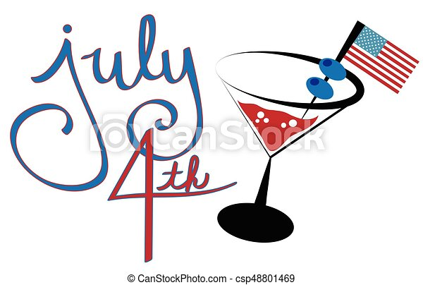 july 4th cocktail clip art vector search drawings and graphics rh canstockphoto com cocktail clip art free images cockatiel clip art