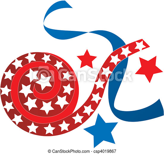 July 4th Icons - csp4019867